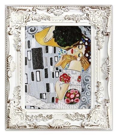 """Gustav Klimt """"Pocałunek""""- płótno, olej + rama 30x35cm"""